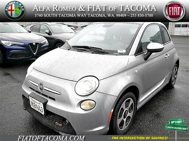 Pre-Owned 2015 FIAT 500e Battery Electric Hatchback in Tacoma #10461